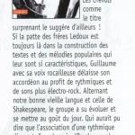 Francofans - Chronique