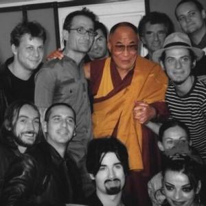 Coulisses et rencontre du Daila Lama
